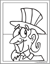 Small Picture Fourth Of July Coloring Pages Pdf Coloring Coloring Pages
