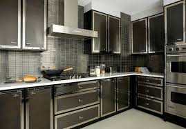 Black KItchen Contemporary kitchen Darci Hether
