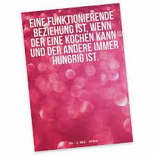 Postkarte Liebe Spruch Ehe Partner Ehepartner Hochzeit