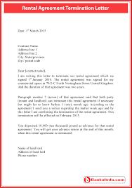 al agreement termination letter sle