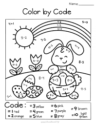 Coloring.ws has a nice collection of spring coloring pages that include birds, caterpillars, chicks, flowers, kites, rabbits, umbrellas, and watering cans. Worksheet Coloring Easter Spring Color By Code Simple Math Pictures To Spring Pictures To Print Coloring Pages Spring Coloring Sheets Spring Coloring Skin Spring Coloring Art Spring Coloring Book Spring Coloring Pictures