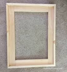 once the frame was assembled i stained them this is my most favorite stain at the moment love the color