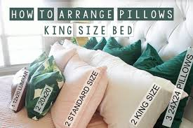 king size pillows on sale.  Pillows Lastly You Add A Lumbar Size Pillow I Used 1 12X20 On King Size Pillows Sale I