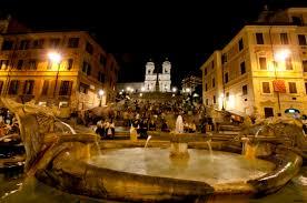 Die treppe des architekten francesco de sanctis aus dem 18. Rom Viii Spanische Treppe Bei Nacht Foto Bild Europe Italy Vatican City S Marino Italy Bilder Auf Fotocommunity