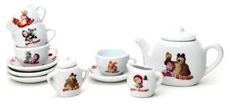 <b>Набор посуды Играем вместе</b> Маша и Медведь CH0034-R ...