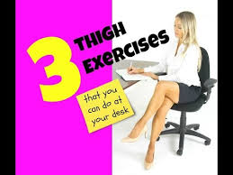 3 thigh toning exercises you can do at