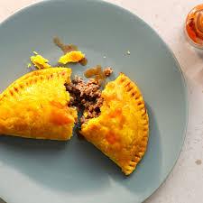 jamaican beef patties in flaky pastry