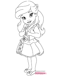 Small Picture Little Princesses Printable Coloring Pages Disney Coloring Book