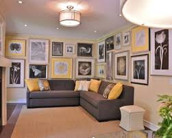 yellow gray and brown living room militariart