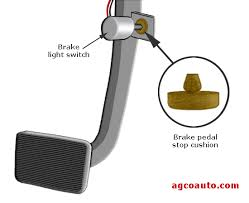 agco automotive repair service baton rouge la detailed auto brake light switch cushion of pad can fall out and cause lights to stay on