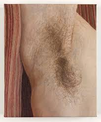 ellen altfest armpit 2016 oil on canvas 21 x 18 cm