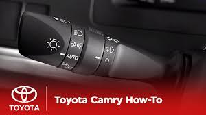 2007 Toyota Camry Daytime Running Lights 2012 Camry Hybrid How To Daytime Running Lights Toyota