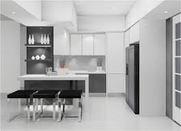 modern white and gray kitchen. Grey And White Kitchen Decoration Using Simple Modern Cabinets Including Gray G