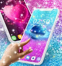 Glitter galaxy live wallpaper for ...