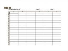 Free Download Spreadsheet Templates Free Spreadsheet Template Template Business