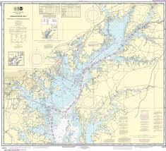 Noaa Nautical Chart 12273 Chesapeake Bay Sandy Point To Susquehanna River