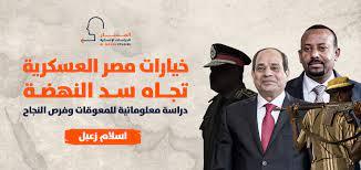 خيارات مصر العسكرية تجاه سد النهضة: دراسة معلوماتية للمعوقات وفرص النجاح -  Al Masar Studies