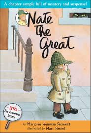 nate the great is a series of children s detective stories and also the name of the main character in those stories the books consist of 20 picture books