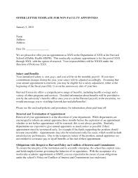 Acceptance Letter To Harvard Cover Letter Example