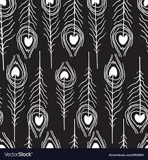 feather patterns seamless feather patterns royalty free vector image