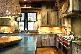 log cabin kitchen cabinets black attractive rustic