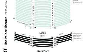 Beacon Theater Detailed Seating Chart Imperial Theater Seating Vidbull Club