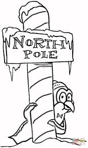 the north pole coloring pages to view printable