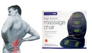 massage chair back. thigh and back massage chair c