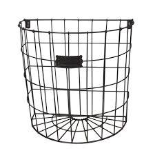 Buy the black large wire basket farmington by studio décor® at