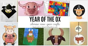 The ox is the second of all zodiac animals. Year Of The Ox Chinese New Year Crafts For Kids