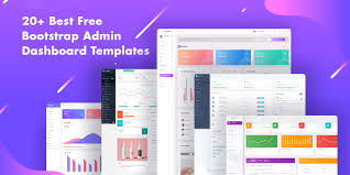 Top 20 Best Free Bootstrap Admin Dashboard Templates 2019