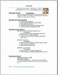Housemaid Resume Sample Best Of Example Of Housekeeping Resume Housekeeper Resume Housekeeper