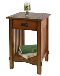 mission oak furniture. Mission Style Side End Table Nightstand Antique Oak Finish Furniture L