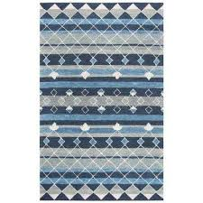 resonant blue multicolor 9 ft x 12 ft rectangle area rug