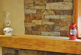 Open Stone Fireplace Interior Living Room Architecture Fireplace Stone Wall Modern
