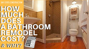 What Is The Cost Of Remodeling A Bathroom How Much Does A Bathroom Remodel Cost