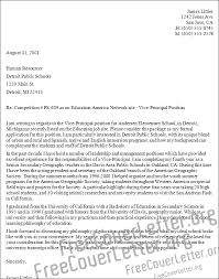 Resume Sample Assistant Principal Cover Letter Best Inspiration