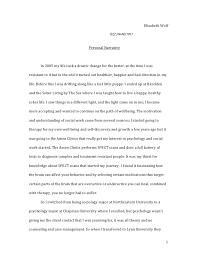 personal narrative essay definition