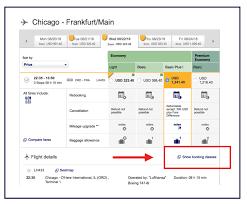 Lufthansa Seat Booking