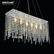 awesome contemporary pendant chandelier for contemporary crystal pendant light fixture rectangle crystal hanging drop lamp stainless