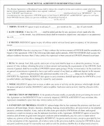 Apartment Lease Agreement Template – Voipersracing.co