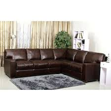 living premium hand rubbed leather sectional sofa abbyson woodland italian 1 living leather sectional