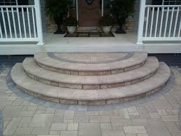 raised concrete patio elegant the age old debate paver patio vs wood deck ask the landscape