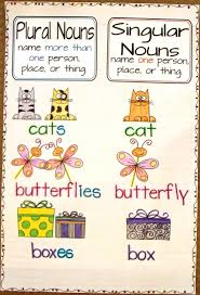 Singular And Plural Nouns Chart 2nd Grade Smarty Arties Taught By The Groovy Grandma