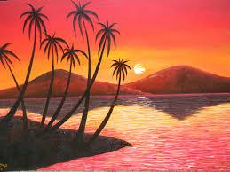 easy canvas painting ideas landscape best nature