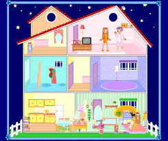 Small Picture Die besten 25 Barbie house decoration games Ideen auf Pinterest