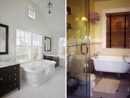faux wood blinds won t hassle you when it s time to clean and the classic traditional look complements the pristine quality of this space