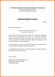 8 Sample Authorization Letter To Sign Documents On My Behalf