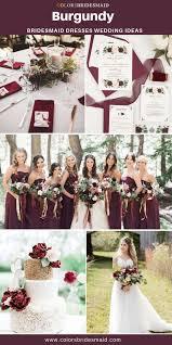20 Best <b>Burgundy</b> Wedding Color Palettes - ColorsBridesmaid