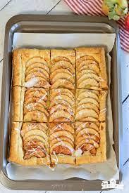 simple puff pastry apple tart little